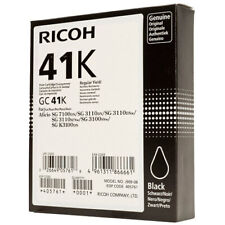 NEW Ricoh GC 41K Genuine Black Printer Ink Toner Cartridge 405761
