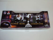 MCFARLANE sportspicks NFL Baltimore Ravens Super Bowl XLVII CAMPEONES 3 Pack