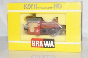 C 11:Brawa 0466 AC Seltene Diesellok Köf II der WLE für Märklin Neuwertig+OVP