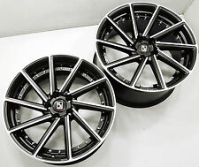 KOKO KUTURE SURREY B2 22 x 9.0 / 10.5 BLACK RIMS WHEELS MERCEDES S600 +30