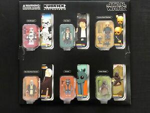 Medicom Toy Star Wars Kubrick Series 2 Set of Six Collectors Edition