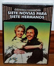 SIETE NOVIAS PARA SIETE HERMANOS DVD NUEVO SLIPCOVER MUSICAL (SIN ABRIR) R2