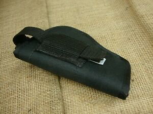 black nylon holster , outbags clip on