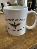 Fort Rucker Alabama Army Aviation 10 oz. Coffee Mug Military