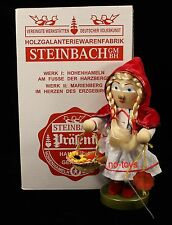 "Steinbach German Wooden Nutcracker ""Little Red Riding Hood� S1397 Signed New"