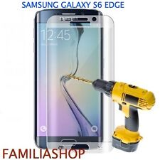 Tempered Glass Film Integral Total Curved Samsung Galaxy S6 Edge