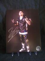 TJP Pro Wrestling Crate Exclusive 8×10 Autograph WWE WWF NXT AEW NJPW ROH ECW