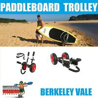 Stand up Paddleboard Trolley SUP Cart Paddle Board SOLID WHEELS CAN'T PUNCTURE