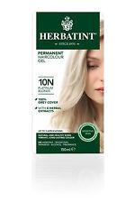 Herbatint Natural Hair Colour Platinum Blonde 10n 150ml
