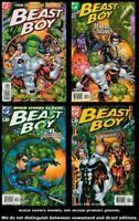 Beast Boy 1 2 3 4 Complete Set Run Lot 1-4 VF/NM