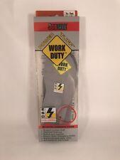 JobSite Power Tuff Boot Shoe Insoles Foot Arch Support Small Men5-7.5 Women6-8.5