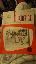 DEC 9 1968 BOXOFFICE vintage movie magazine PAPER LION - FOOTBALL