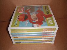 Lot of 9 Spanish Puzzles Boardbooks Los Oficios de Elmo NEW