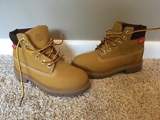 Timberland Helcor Wheat Boys Boots Size 13W EUC