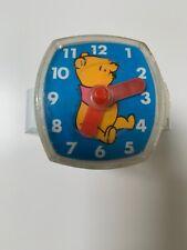 Winnie The Pooh Kids Vintage Plastic Toy Watch Walt Disney Productions