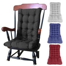 Outdoor High Back Chair Cushions Soft Seat Pad Backyard Garden Lounger Cushion