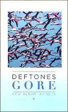 Deftones Gore 2016 Ltd Ed Rare Litho Poster +Free Sticker & Rock/Metal Poster!