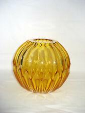 WMF  Glas Vase, reich geschliffen, Walter Dexel, um 1950 (3)