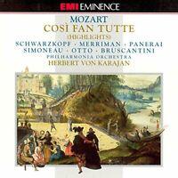 Various - Mozart: Così fan tutte (CD) (1993)