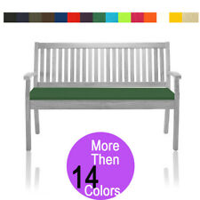 Garden Bench Cushion 2 Seater Outdoor Patio Furniture Pads Waterproof 6cm Thick
