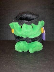 Stitch Frankenstein RETIRED Puffkins Bean Bag Plush 1999 Swibco