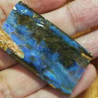 123.95CT +VIDEO Australia Queensland Boulder Opal ROUGH / RUB