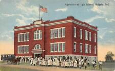 Agricultural High School, Ridgely, Maryland ca 1910s Vintage Postcard