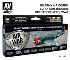 Vallejo Model Air Paint Set - US Army Air Corps ETO WW II  - #71182