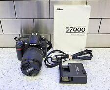 Nikon D D7000 16.2MP Digital SLR Camera Bundle w AF-S Nikkor 18-105mm VR DX Lens