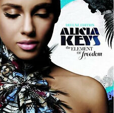 Alicia Keys : The Element of Freedom CD Deluxe  Album with DVD 2 discs (2009)