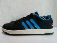 Adidas VS Pace Black Blue Skateboard low-top Sneakers Trainers Size UK 5.5