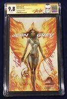 """Jean Grey #1 Campbell Edition """"D"""" CGC 9.8 Signed by Stan Lee & Campbell X-MEN!!!"""