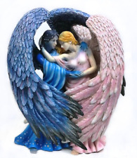 Day Surrendering Onto Night Angel Fairy Figurine Figure Sheila Wolk faery statue