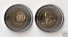 Repubblica Dominicana 10 pesos 2008 bimetallico  FDC