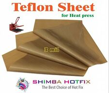 3 Pack 15X15   Teflon Sheet for Heat Press   3 mil (0.003 inch)