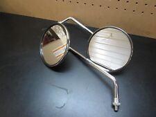 """Moto Guzzi 5"""" Round Mirror Set T3 Convert Lemans G5"""
