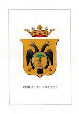 Araldica stemma araldico della famiglia Pedicini di Benevento