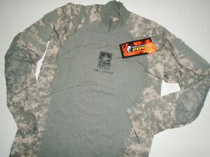 NEW - MASSIF Performance ARMY COMBAT Shirt HALO Camo ACS ACU Camouflage NWT XL