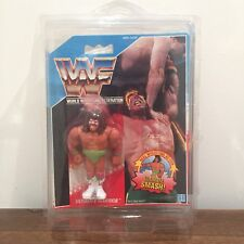WWF/WWE Ultimate Warrior Vintage Hasbro Action Figure Series 1 1990 with case