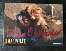 SMALLVILLE Card Johnathan John Schneider Signed Autographed Inkworks