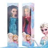 Frozen 2 Princess Elsa Anna Cartoon Doll Snow Queen Children Girls Toy For Kids