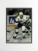 Kings Wayne Gretzky Authentic Signed Matted Magazine Page PSA/DNA #T41038