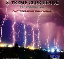 X-TREME CLUB HOUSE VOL 1 ( ELCTRO / FUNKY ) DJ MIX CD