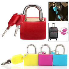 4X 20mm Mini Small Padlock Home Door Travel Suitcase Luggage Bag Padlocks Lock