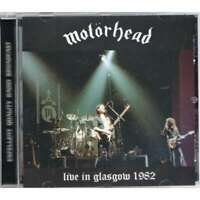 "MOTORHEAD : ""Live In Glasgow 1982"" (RARE CD)"