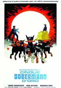 Dvd Supercolpo Dei Cinque Dobermann D'Oro - (1976) ......NUOVO