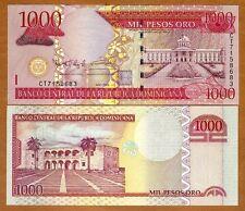 Dominican Republic, 1000 Pesos Oro, 2009,  P-180b, UNC