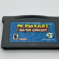 Mario Kart Super Circuit for GameBoy Advance Tested & Working Cartridge Only