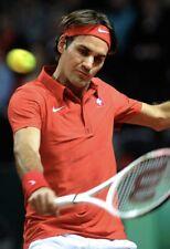 Nike Roger Federer RF 2012 Switzerland Davis Cup Tennis Polo Shirt 439505 XXL