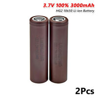2X Rechargeable High Drain 18650 3000mAh 3.7V Battery Max 20A For Torch Toy 27F